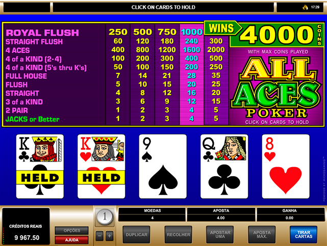 All Aces Poker