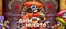 <div>Celebrating the Day of the Dead may not be such an unpleasant occasion in Grim Muerto, a new casino Slot!</div>