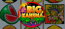 Feel the heat of the tribal beat at Big Kahuna, a game that offers a unique and exciting playing experience and many features to increase winnings. Bonuses aplenty in this jungle!