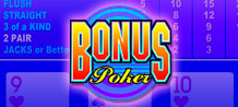 Bonus Video Poker a real player's game!<br/>