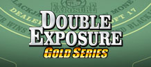 Get ready for the ultimate table game! Double Exposure Blackjack Gold Table Game will entertain you all day long.