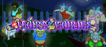 "When hearing the word ""Fairy"" you would probably expect a cute little ""female"" fairy, but that is exactly what you won't be getting on this game! A bunch of drunken, beer belied, hairy fairies are flying around ready to offer you some big wins!"