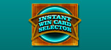 Looking to get the excited feeling of playing instant win scratch cards online? With the Instant Win Card Selector you can play a large selection of cards in a single session!