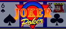 The outstanding features of Joker Poker include generous pay tables and an Auto Hold facility that holds the mathematically superior cards in the hand, but plays these only when and if the Player wishes it.