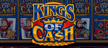 Come get your share of treasure from these Kings of Cash! Strike it rich in the free spin round or in the Match Three King's 2nd screen bonus round! Either way you are in for a ROYAL rewards!