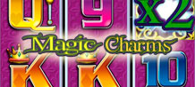 Magic Charms is packed full of romantic surprises that will transport the audience to a romantic fairytale world of magic wands, rainbows and treasure chests. Step into a fairytale world that conjures many magical prizes. Uncover the frog and transform it to a prince for some charming returns!<br/>
