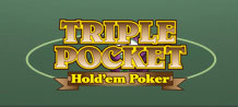 This stylish and sophisticated Triple Pocket Hold'em Poker game is an intriguing addition to the existing table game portfolio. This card Game is fun to play, and easy to learn, yet difficult to master, which makes it the ideal casino poker game for both beginners and experienced players.