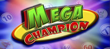 Come get to know the new game Mega Champion! Learn the classic 4 card bingo game with 25 numbers per card. 50 balls are pulled, and you have the option to buy 3 extra balls in some cases. This game offers 10 prizes per card and the more you bet, the larger the prizes become! You can win 10%; 20%; 30%; 40% or 100% of the jackpot!